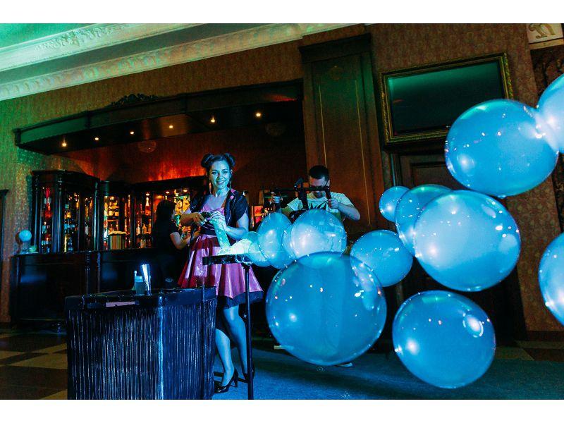 Мыльная Феерия, Шоу мыльных пузырей