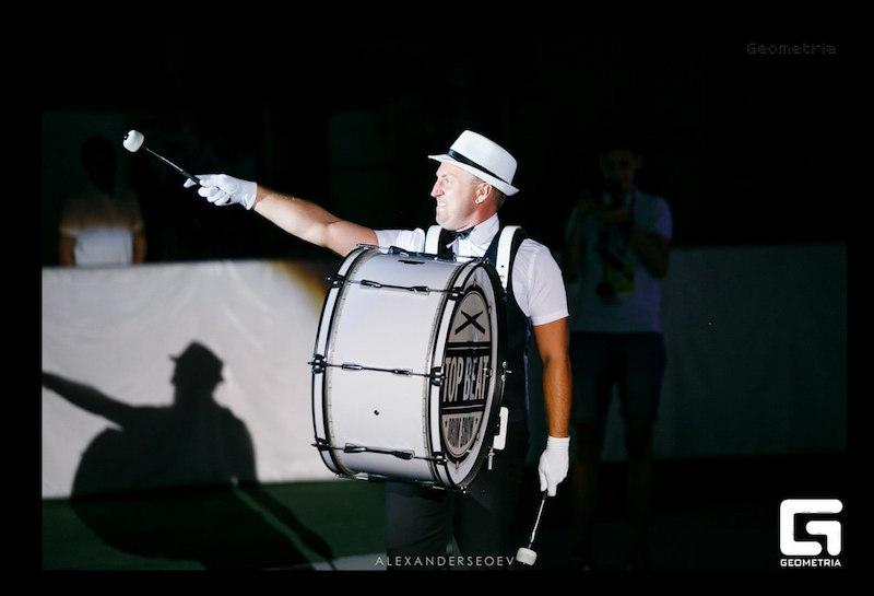 Top Beat - барабанное шоу, сколько стоит заказать, пригласить на свадьбу в Ростове, стоимость выступления, цена