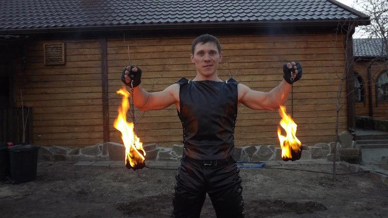 Шоу Гладиатор Ростов-на-Дону, Фаер и световое шоу